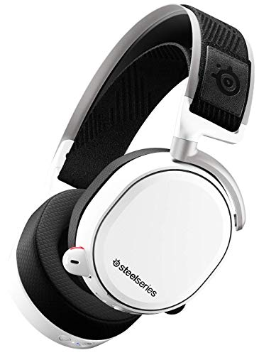 SteelSeries Arctis Pro Wireless - Drahtlos Gaming-Headset - hochauflösende Lautsprechertreiber - kombiniertes Funksystem (2,4 GHz & Bluetooth) - Weiß Wireless Bluetooth-headset