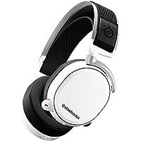 SteelSeries Arctis Pro Wireless – Drahtlos Gaming-Headset – hochauflösende Lautsprechertreiber – kombiniertes Funksystem (2,4 GHz & Bluetooth) – Weiß