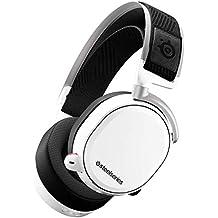 SteelSeries Arctis Pro Wireless – Drahtlos Gaming-Headset – hochauflösende Lautsprechertreiber – kombiniertes Funksystem (2,4 GHz & Bluetooth) - Weiß