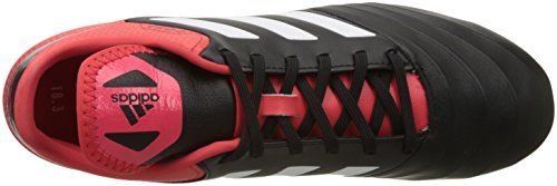 adidas Herren Copa 18.3 FG Fußballschuhe Schwarz (Core Black/Footwear White/Real Coral)