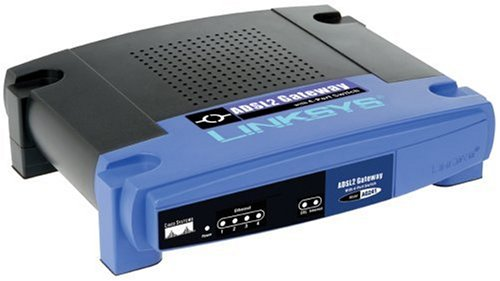 Linksys AG241-DE ANNEX B ADSL2 GATEWAY (Kabelgebundenes ADSL2 GATEWAY + 4-PORT SWITCH ANNEX B DE VERSION)