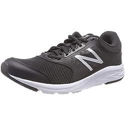 New Balance 411, Zapatillas de Running para Mujer, Negro (Black Silver), 40.5 EU