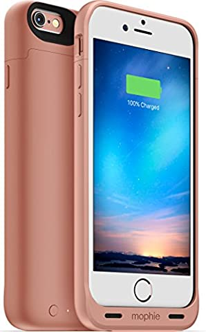 Mophie Juice Pack Reserve pour iPhone 6/6s Boîtier Extension de la durée de vie de la Batterie - Rose Doré