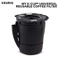 Keurig My K-Cup Universal Reusable Ground Coffee Filter, Compatible with All Keurig K-Cup Pod Coffee Makers (2.0 and 1.0)