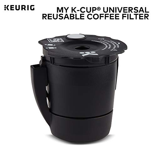 Keurig My K-Cup Universal Mehrweg-Kaffeefilter Neues Modell 2.4 x 2.4 x 2.7 inches schwarz