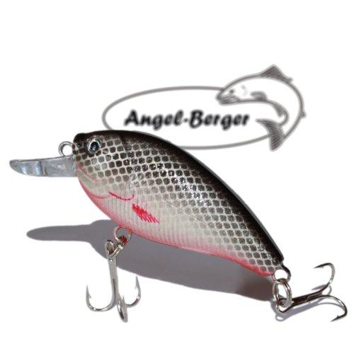 Fat Crank 3D Wobbler Minnow Weissfisch Angel Berger Hardbait