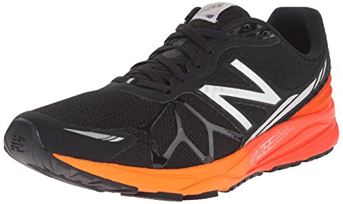 New Balance Men's Vazee Pace Running Shoe, Black/Red, 11 2E US Black / Red