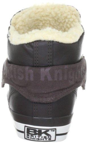 British Knights ROCO B30-3717, Baskets mode mixte adulte Marron foncé (Braun)