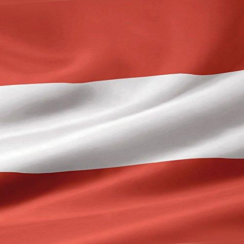 Apple iPhone 5s Case Skin Sticker aus Vinyl-Folie Aufkleber Österreich Flagge Austria DesignSkins® glänzend
