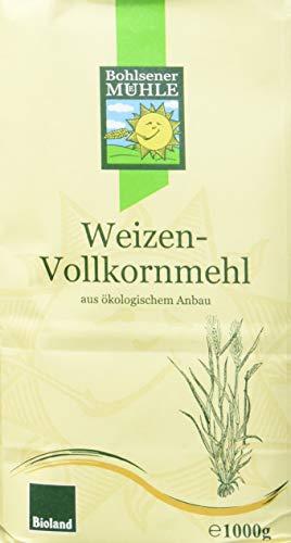 Bohlsener Mühle Weizenvollkornmehl, 6er Pack (6 x