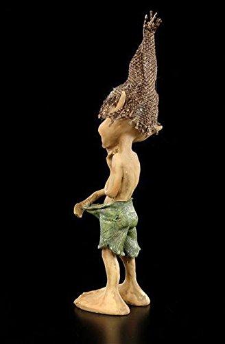 Pixie Kobold Figur – Hosencheck | Lustiger Gnom Zwerg