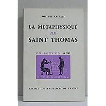 La métaphysique de Saint Thomas