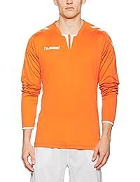 Hummel respirant–Core LS en jersey–Training T-shirt manches longues Homme–T-shirt à manches longues pour le sport et les loisirs–Maillot de sport div. couleurs–Tshirt col rond