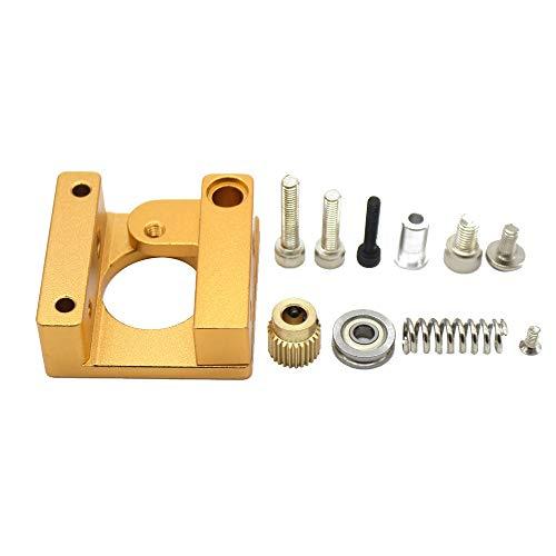 Preisvergleich Produktbild Gaddrt 3D Drucker Aktualisieren Sie den Aluminium-Extruderantriebs-Feedrahmen für den Creality Ender 3 3D-Drucker (C)