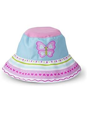 Melissa & Doug 16757 Cappello Sunny Patch con la Farfalla Cutie Pie e con Falda Larga per Proteggere dal Sole