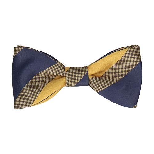 Gold Stripe Bow Tie (Mrs Bow Tie Sierra Stripes Fliege, Fertig gebundene - Gold)