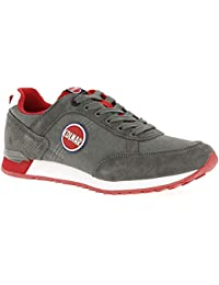 new product d197f 24ec1 Colmar Travis Colors 012 Gray Green Red TRAVIS012GRAYGREEN, Trainers