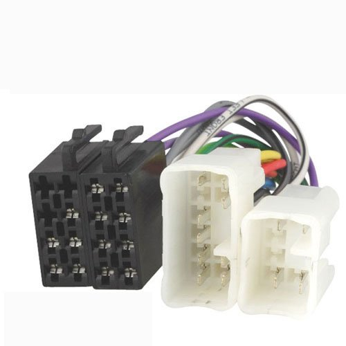 Systafex ® Autoradio Adapter ISO Radioadapter Stecker für Daihatsu Lexus Toyota