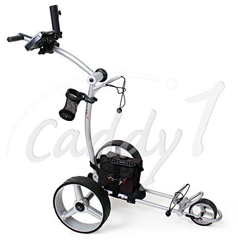 Elektro Golf Trolley CADDYONE 600 mit Lithium-Akku, 300W, 20Ah-Akku Test