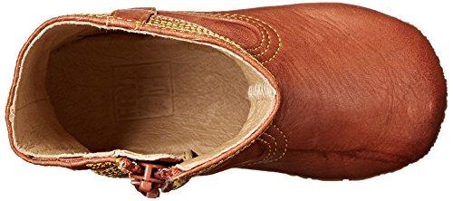 FRYE Campus Stitching Horse Crib Shoe (Infant/Toddler) Saddle