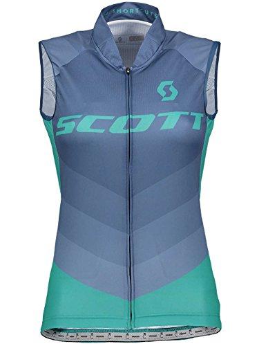 Scott RC Pro Damen Fahrrad Body Shirt blau/grün 2018: Größe: M (38/40)