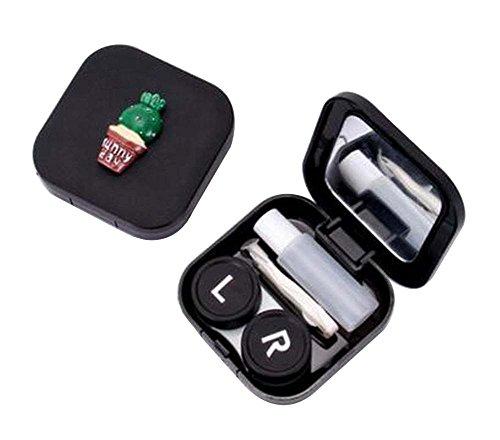 [H] Schöne stilvolle Kontaktlinsen Case Storage Holder