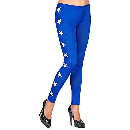 WIDMANN - Leggings con diseño de estrellas