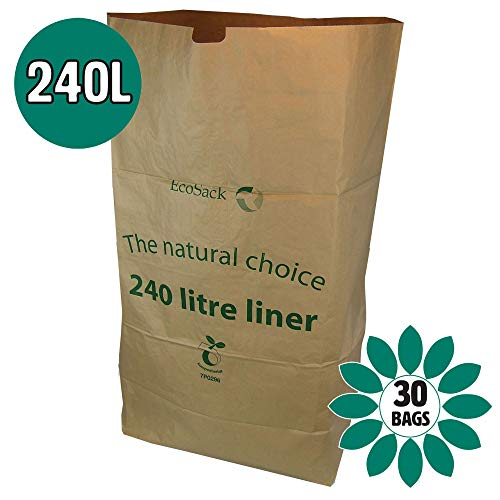 30 bags Eco Friendly Paper Mailing Manilla Brown Bag//Sack 330 x 100 x 485mm