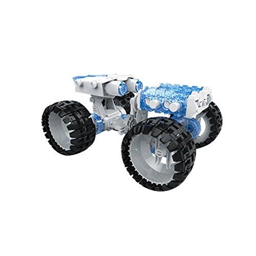 Camión de escalada de agua salada VATOS alimentado con combustible vehículo de juguete espacial DIY