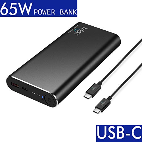 helpers lab USB Typ-C PD 3.0 / QC 3.0 65W 20,000 mAh USB-C Power Bank Schnellladung für New MacBook/iPhone X/XiaoMi air und Mehr