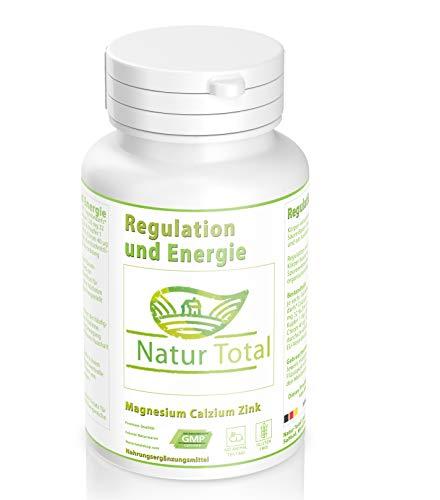 Regulation und Energie mit Magnesium Kalzium Zink - Körper entsäuern 180 Basentabletten - Körper entsäuern und den Säure Basen Haushalt wieder stabilisieren (180)