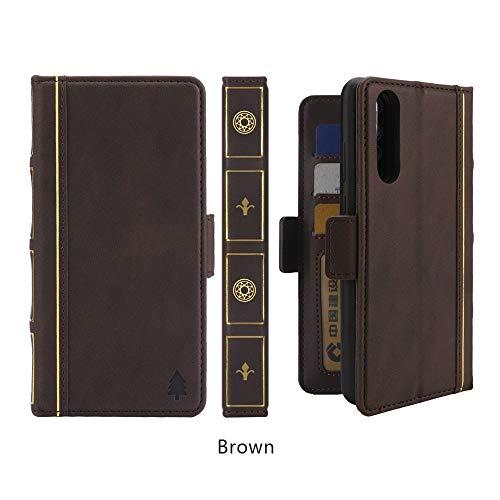 Happy-L Hochwertiger Koffer Für Huawei P20 Pro, Bible Style Business Horizontal Flip Leder zurück Fall mit Kartensteckplätzen & Bilderrahmen & Halter & Geldbörse (Farbe : Kaffee) -