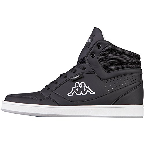 Kappa Unisex-Erwachsene Forward High-Top Schwarz (1110 black/white)
