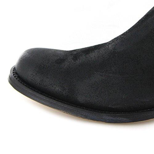 Sendra Boots Stiefel JOHN II Chelsea Boot Schwarz