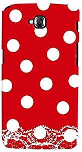 PrintVisa 3D-LGGPROLITE-D7980 Pattern Polka Dots Red Case Cover for LG G Pro Lite