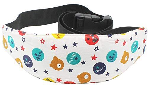 Lucklystar pezzi cinturino supporto per bambini neonati, seggiolino auto per bambini - una comoda soluzione di sicurezza per dormire, cintura di sicurezza per poggiatesta regolabile per auto sportive di sicurezza, cinturino da polso, 1pz