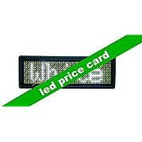 Gowe Gowe Gowe programmabile LED prezzo della, tag badge con Coloreeee bianco e USB programmazione | Cheapest  | Il Prezzo Ragionevole  | Uscita  94c368