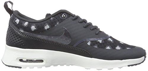 Nike Wmns Air Max Thea Print, sneaker femme Black/Dark Grey-Anthracite-Wolf Grey-Summit White