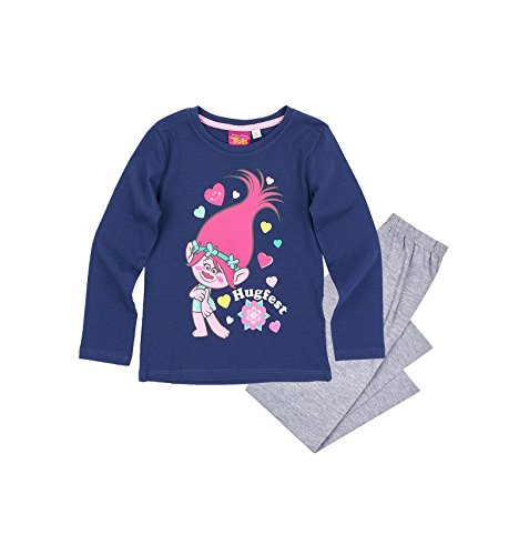 Trolls Pijama para niña (10 años)