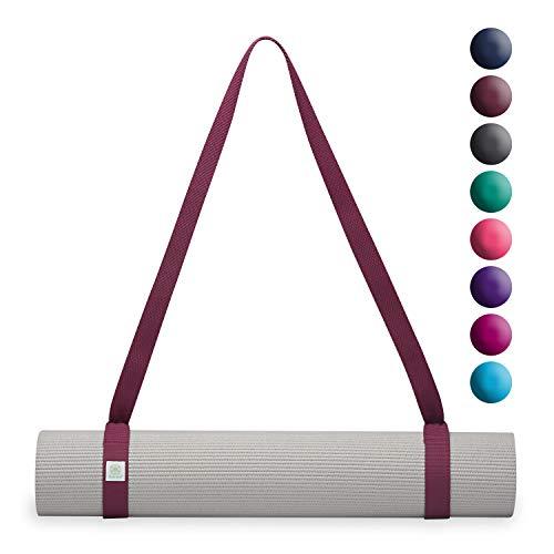gaiam Easy-Cinch Yogamatte, einzeln erhältlich, Easy-Cinch, Mulberry -