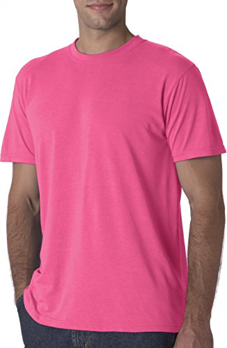 Jerzees - Maglietta sportiva - Asimmetrico -  uomo Rosa - Rosa neon