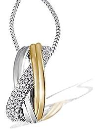 Goldmaid - Pa C56379S - Collier Femme - Argent 925/1000 3.2 Gr - Oxyde de Zirconium