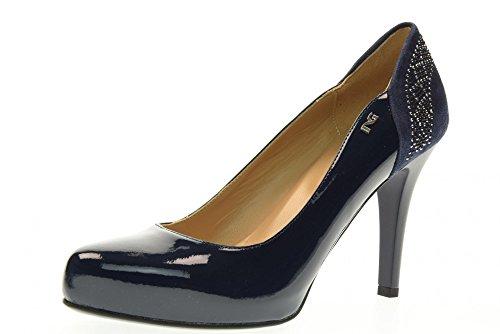 NERO GIARDINI donna decolletè tacco alto P717361DE/208 taglia 37 Blu