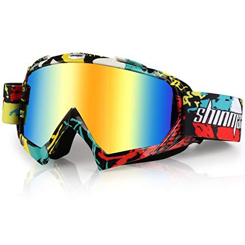 Shinmax Gafas de Esquí Viento y Polvo Gafas