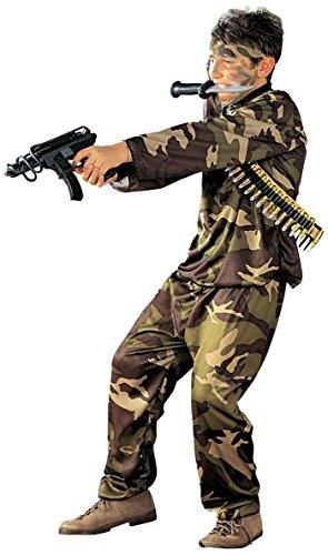 Widmann 38408 - Kinderkostüm Soldat, Größe - Kinder Soldat Kostüm