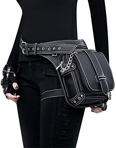 Jxth Borsa da Viaggio Viaggio Viaggio Fanny Pack Steampunk Bag Steam Punk Retro Rock Gothic Goth Shoulder Borse a Vita Packs Stile Vittoriano per Le Donne Uomini Leg Thigh Holster Bag Mezzo Messenger per Uomo Donna B07NRP84WF Parent | Reputazione a lungo termine