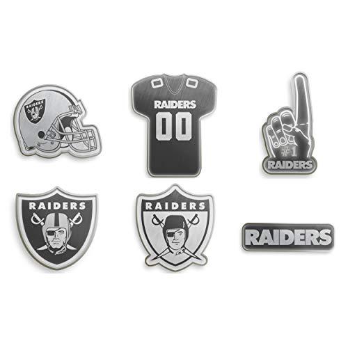 Forever Collectibles Oakland Raiders NFL Anstecker 6er Set