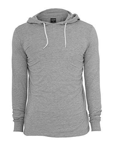 Urban Classics Jersey Sweats à capuche Grey Grey