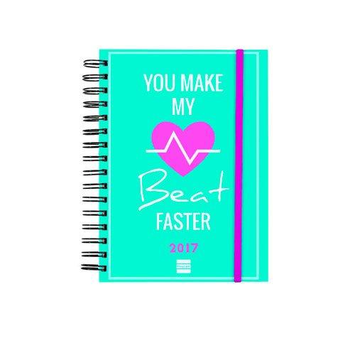 Finocam 936915 - Agenda día por página 2017, diseño beat