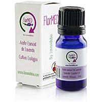 FlorMed - Aceite esencial lavanda BIO Flormed,  100% puro cultivo Mediterráneo, 10 ml